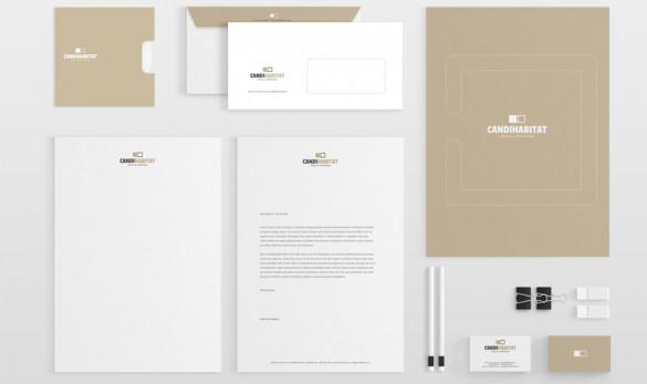 x Compañía general de ideas-comunicación projects imagen coorporativa candihabita