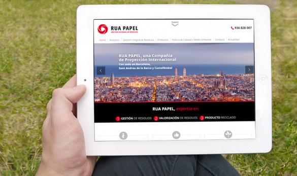 Compañía general de ideas-comunicación projects rua papel web