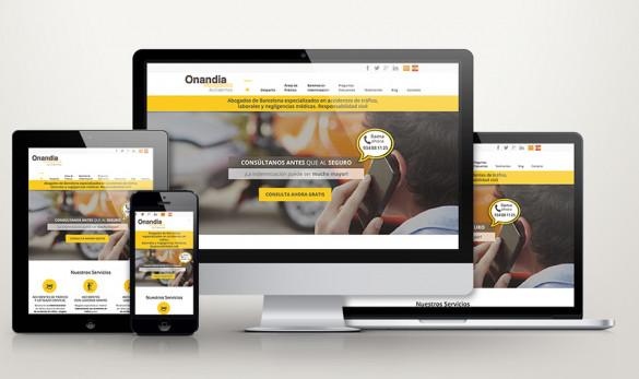 Compañía general de ideas-comunicación projects web onandia pantalles