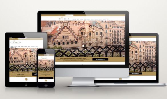 Compañía general de ideas-comunicación projects web the guest