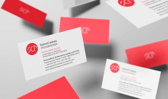 Compañía general de ideas-comunicación projects sales comas tarjeta visita