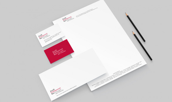 Compañía general de ideas-comunicación projects fontquerni papelería