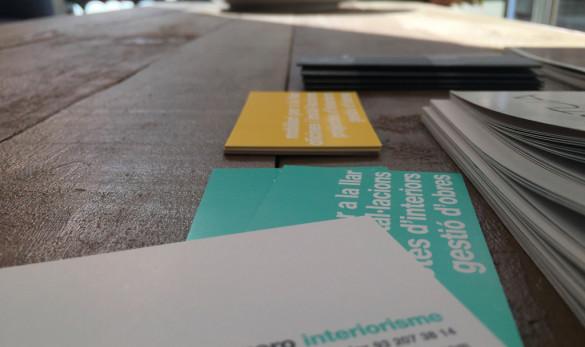 Compañía general de ideas-comunicación projects xavier gero tarjetas