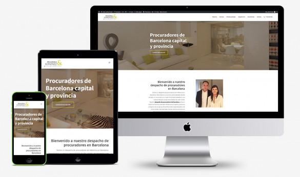 """Compañía general de ideas-comunicación onandia abogados accidentes landing pgp """"Pradera González Procuradores"""""""