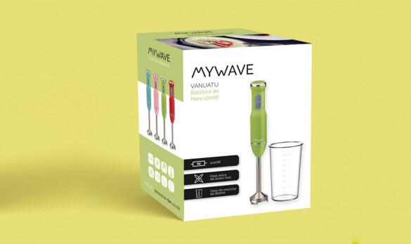 Compañía General de Ideas diseño de conjunto packs de batidoras de colores de MyWave